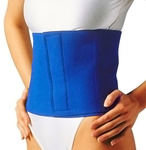 Bantning motion bälte för fettförbränning - Slimming Exercise Waist Belt Workout Body Wrap Burn Fat