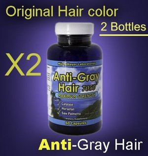 Anti-Gray Hair Stop Supplements