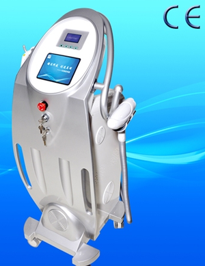 YAG laser tattoo removal + E-Light (IPL + RF) laser system ( 3 in 1) - professionell