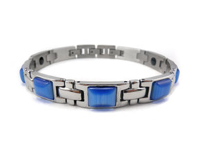 Magnetarmband Amori Opal Blue