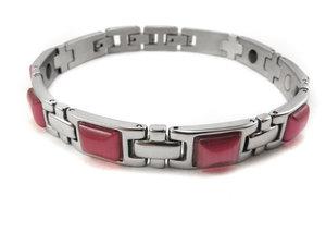 Magnetarmband Amori Opal Pink