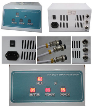 2- 3 Zones FIR- Infraröd värmesäck för smärtlindring/slimming/detox